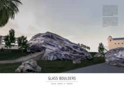 Glass Boulders