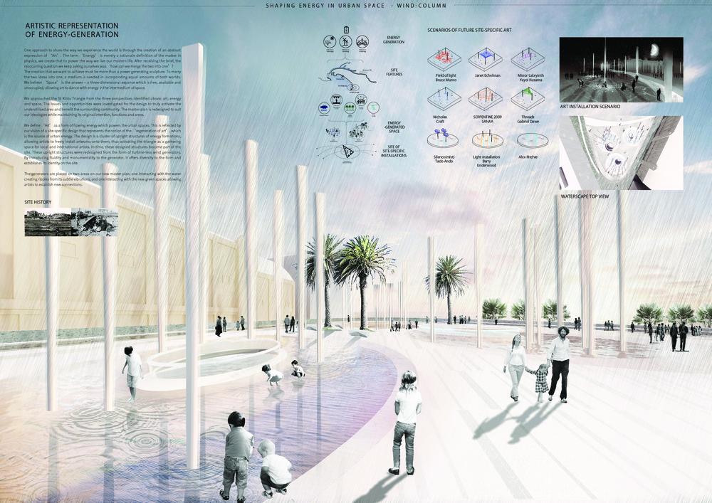 Shaping Energy in Urban Space – WIND-COLUMN | LAGI-2018